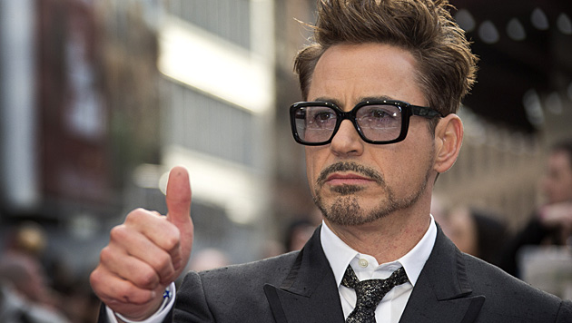 Mittlerweile ist Robert Downey Jr. suchtfrei, doch nun sorgt sein Sohn für Drogen-Schlagzeilen. (Bild: AP)