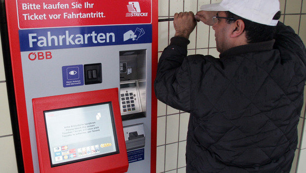 Trio knackte Ticketautomaten: 120.000 Euro Schaden (Bild: Andi Schiel (Symbolbild))
