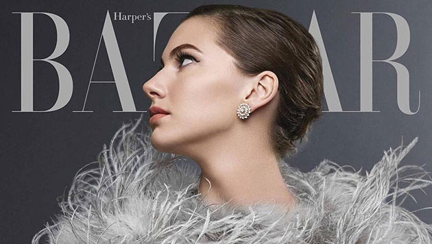 "Audrey Hepburns Enkelin Emma Ferrer wurde von  Richard Avedons Enkel Michael Avedon fotografiert. (Bild: Harper""s Bazaar)"