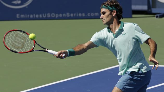 Federer-Rekord: 300. Sieg bei Masters-Turnieren (Bild: AP)