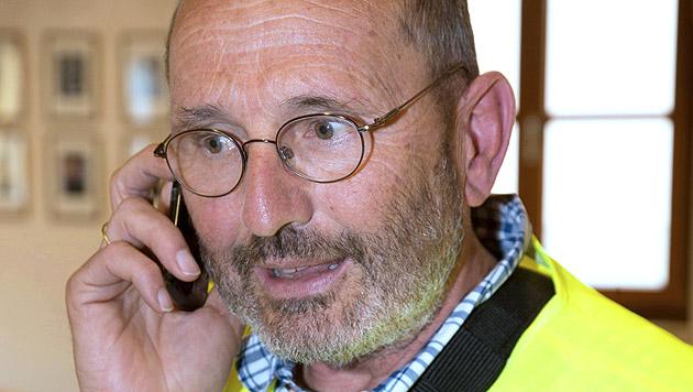 Einsatzleiter der Bergrettung Wilfried Seidl (Bild: APA/NEUMAYR/MMV)