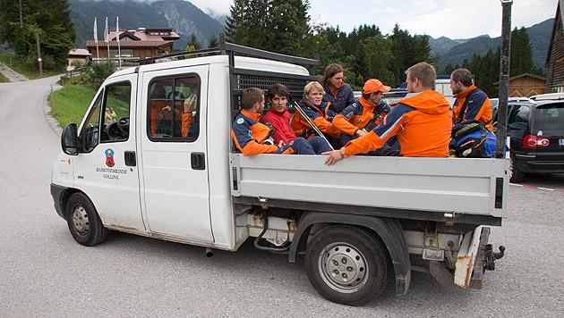 Höhlenunglück: Rettungsaktion läuft auf Hochtouren (Bild: APA/NEUMAYR/MMV)