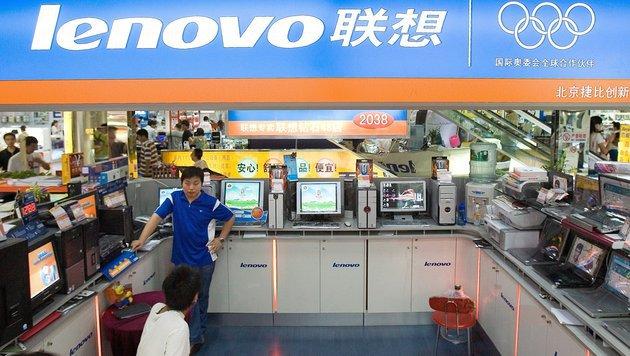 Lenovo: Smartphones und Tablets treiben Wachstum (Bild: APA/epa/Diego Aubel)