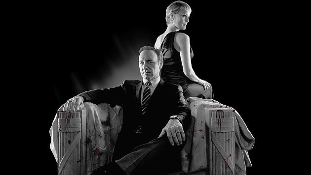 """Der ORF zeigt die zweite Staffel der preisgekrönten Politserie """"House of Cards"""" ab 3. September. (Bild: ORF/Sony Pictures)"""