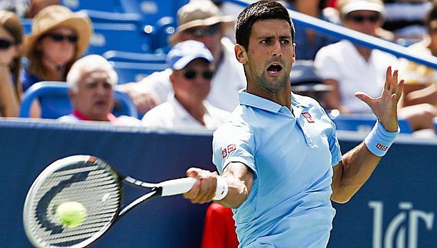 Djokovic nimmt Auftakthürde Schwartzman ohne Mühe (Bild: APA/EPA/TANNEN MAURY)