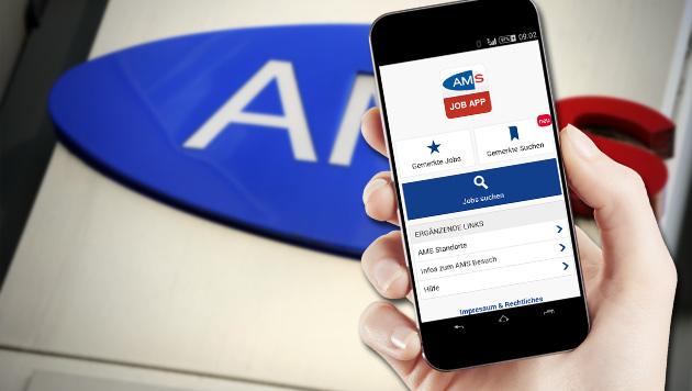 Kostenlose AMS-App macht die Jobsuche mobil (Bild: AMS, APA/ANDREAS PESSENLEHNER, thinkstockphotos.de)