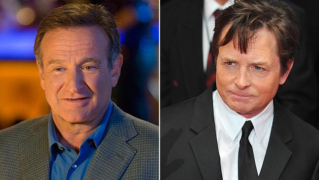 "Robin Williams hatte Parkinson: Fox ""fassungslos"" (Bild: APA/EPA/RON PHILLIPS, dpa/Jens Kalaene)"