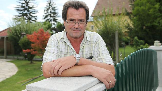 Joachim Kreuzer nahm die Verfolgung des mutmaßlichen Einbrechers auf. (Bild: Peter Tomschi)