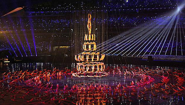 Jugend-Olympia in Nanjing vor 60.000 Fans eröffnet (Bild: APA/EPA/AHMAD YUSNI)