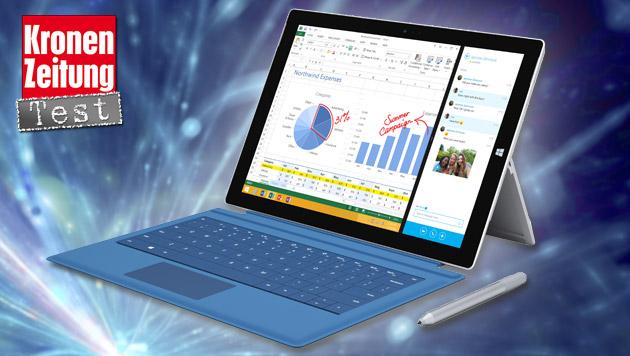 Surface Pro 3: Das kann Microsofts Tausendsassa (Bild: Microsoft, thinkstockphotos.de)