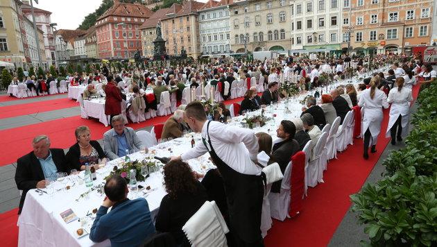 700 Gourmets wurden verköstigt. (Bild: Jürgen Radspieler)