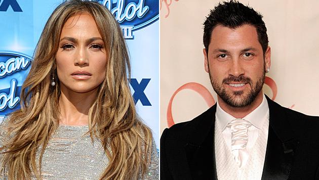 Wird es ernst? Jennifer Lopez und Maksim Chmerkovskiy wollen angeblich zusammenziehen. (Bild: AP, JUSTIN LANE/EPA/picturedesk.com)