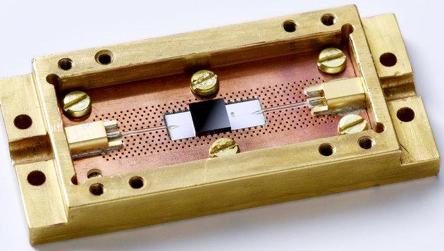 Quantencomputer: Wiener verdoppeln Speicherzeit (Bild: TU Wien)