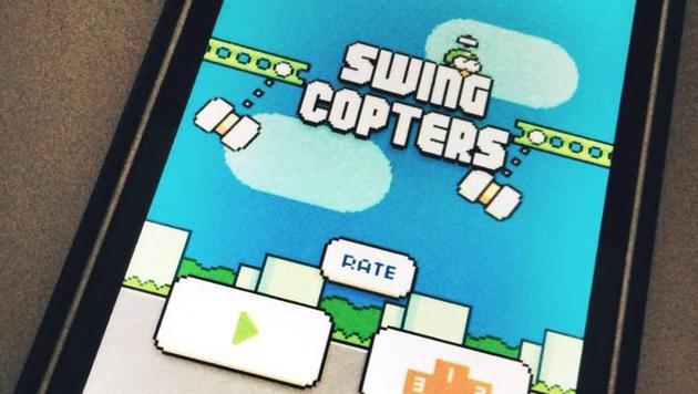 """""""Flappy Bird""""-Erfinder kündigt """"Swing Copters"""" an (Bild: twitter.com/dongatory)"""