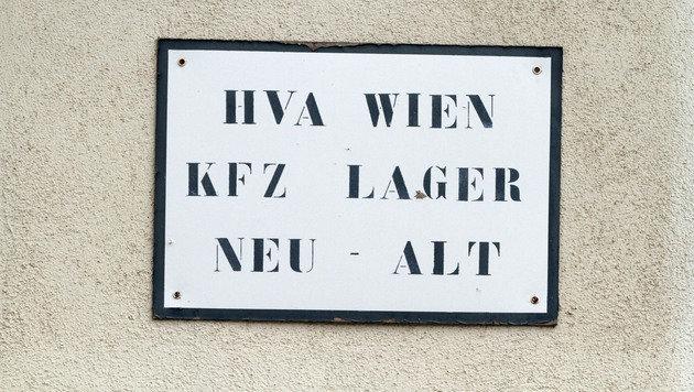Das Kfz-Lager der Heeresversorgungsanstalt (HVA). (Bild: ANDI SCHIEL)