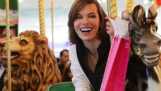 """""""Resident Evil""""-Star Milla Jovovich ist zum zweiten Mal schwanger. (Bild: EPA)"""
