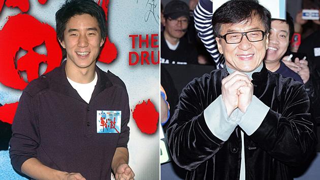 Jackie Chans Sohn Jaycee ist wegen Drogenmissbrauchs festgenommen worden. (Bild: AP, APA/EPA/SHIN HYO-TEUK)
