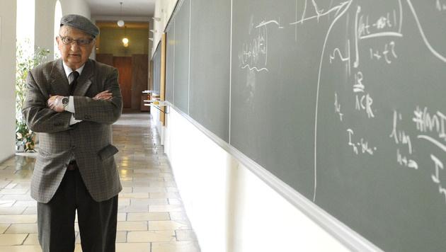 Der Wiener Physiker Walter Thirring starb im Alter von 87 Jahren. (Bild: APA/HELMUT FOHRINGER)