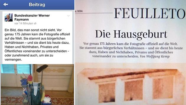 Man huldigt der Fotografie - wie auch die Süddeutsche Zeitung. (Bild: facebook.com, twitter.com)