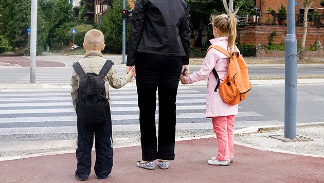 517 Kinder bei Unfällen am Schulweg verletzt (Bild: thinkstockphotos.de)
