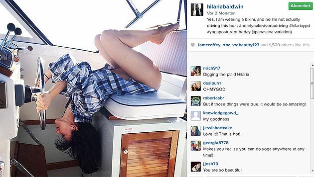 Oft posiert Hilaria im sexy Bikini. (Bild: instagram.com/hilariabaldwin)