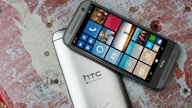 HTCs One M8 jetzt auch mit Windows Phone 8.1 (Bild: Microsoft)