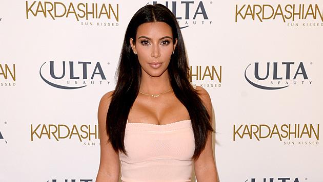 Für ihre Schönheit ist Kim Kardashian keine Beauty-Behandlung zu teuer und zu schmerzhaft. (Bild: AFP)