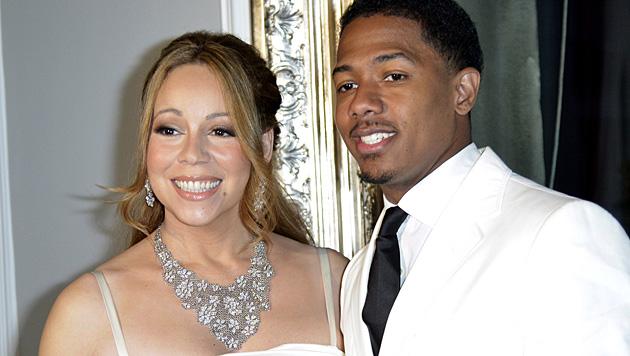 Mariah Carey und Nick Cannon (Bild: STEPHANE REIX/EPA/picturedesk.com)
