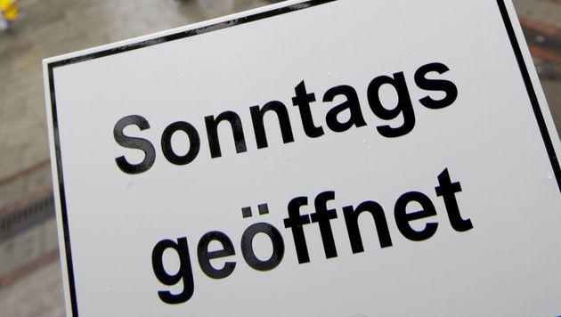 Sonntagsöffnung: Urabstimmung im Handel startet (Bild: dap/Frank Rumpenhorst (Symbolbild))