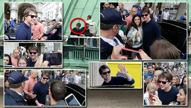 Tom Cruise in Wien: Die besten Bilder der Ankunft (Bild: Klemens Groh, Kronen Zeitung)