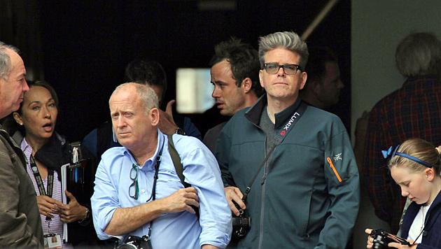 Robert Elswit (Kameramann) und Christopher McQuarrie (Regisseur) (Bild: Starpix/Alexander Tuma/SPY)