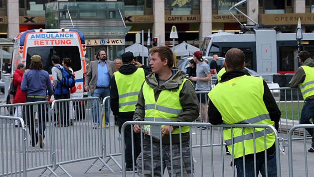 """Vorbereitungen zum """"Mission: Impossible 5""""-Dreh in Wien (Bild: Peter Tomschi)"""