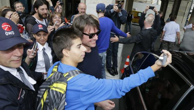 Tom Cruise in Wien (Bild: Klemens Groh)