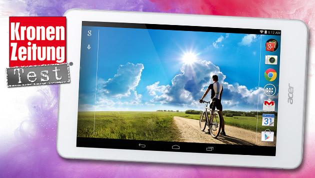 Acer Iconia Tab 8: Das neue Volks-Tablet im Test (Bild: Acer, thinkstockphotos.de, krone.at-Grafik)