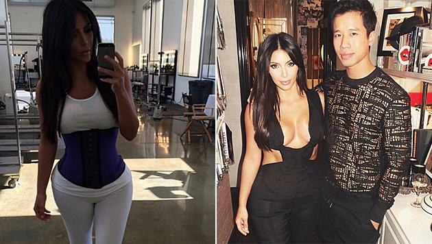 Kim Kardashian: Sexy Kurven dank Schinderei mit dem Korsett (Bild: instagram.com/kimkardashian)