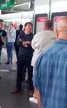 """krone.at-Leserreporter Ronald Weixler drückte bei den """"MI5""""-Dreharbeiten auf den Auslöser. (Bild: krone.at-Leserreporter Ronald Weixler)"""