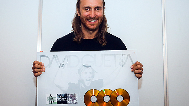 Was er anfasst, wird zu Gold: Produzent und DJ David Guetta (Bild: foto-scharinger.at/Daniel Scharinger)