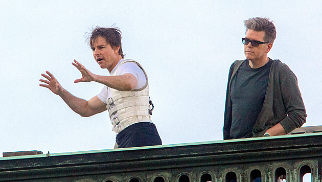 "Stuntproben zu ""Mission: Impossible V"" in Wien (Bild: APA/photonews.at/Georges Schneid)"