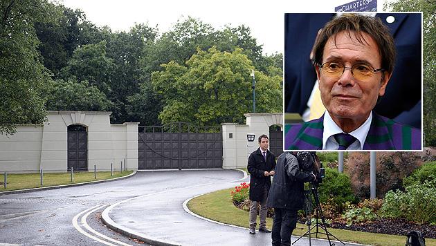 Das Anwesen von Cliff Richard wurde Mitte August von der Polizei durchsucht. (Bild: AP, APA/EPA/NEIL MUNNS)