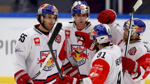 Salzburg holt ersten Sieg in der CHL (Bild: Red Bull GEPA pictures)