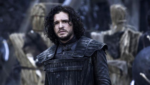 "Kit Harington alias John Snow in einer Szene aus ""Game of Thrones"" (Bild: APA/AP/HELEN SLOAN)"