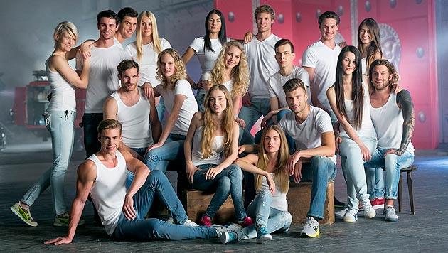 Die Top-18-Kandidaten aus über 5.000 Bewerberinnen und Bewerbern. (Bild: (c) Harald Lachner)
