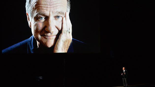 """Bewegend: Billy Crystal würdigt Robin Williams als den Mann, """"der uns alle zum Lachen brachte""""."""
