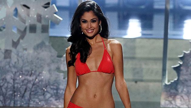 """Patricia Yurena Rodriguez vertrat ihr Land 2013 bei der """"Miss Universe""""-Wahl in Moskau. (Bild: APA/EPA/SERGEI ILNITSKY)"""
