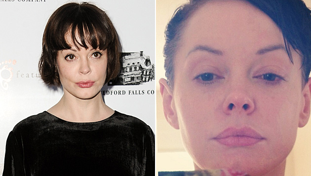 rose mcgowan sehe aus wie hitlers cousin hexe mit. Black Bedroom Furniture Sets. Home Design Ideas