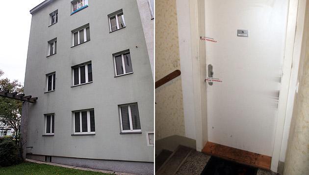 In einer Wohnung in Wien-Penzing entdeckten Feuerwehrleute die Leiche eines 22-jährigen Mannes. (Bild: Andi Schiel)