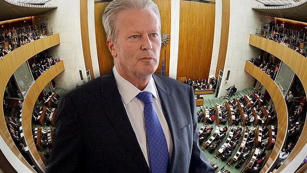 Reinhold Mitterlehner (Bild: APA/HELMUT FOHRINGER, krone.at-Grafik)