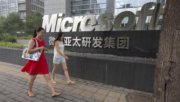 Chinas Kartellwächter erhöhen Druck auf Microsoft (Bild: AP)