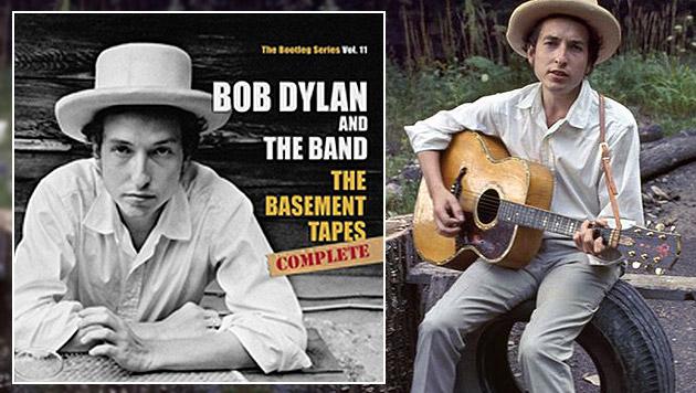 """Dylan veröffentlicht komplette """"Basement Tapes"""" (Bild: Elliott Landy, Landyvision + Sony Music)"""
