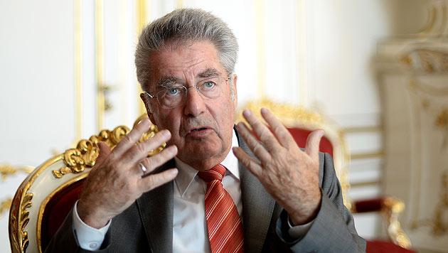 """Fischer warnt Kandidaten vor """"Allmachtsfantasien"""" (Bild: APA/Roland Schlager)"""